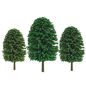 HOスケール 雑木 サイズ:高さ約7.6cm&10cm(24本入り)