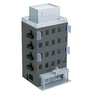 2609 着色済み ストラクチャーキット ビジネスビル(ブラックグレー) 基本5階建