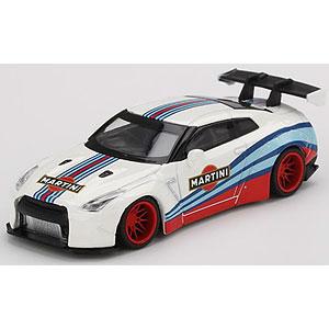 1/64 LB★WORKS Nissan GT-R R35 タイプ1 リアウイング バージョン 1 マルティニレーシング (左ハンドル)