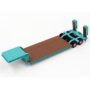 1/50 16輪 中低床重量物運搬用トレーラ 自動あゆみ付 コベルコ建機