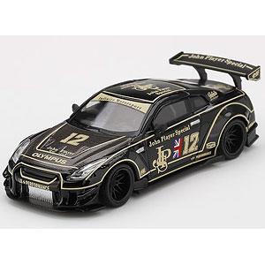 1/64 LB★WORKS Nissan GT-R R35 タイプ2 リアウイング バージョン 3 JPS(左ハンドル)