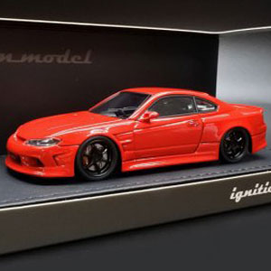 1/43 VERTEX S15 Silvia Red