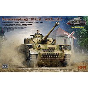 1/35 IV号戦車 J型 最終生産型Sd.Kfz.161/2 w/フルインテリア プラモデル