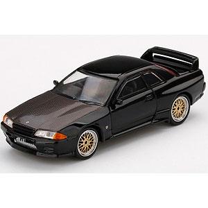 1/64 Nissan GT-R R32 ブラック BBS LMホイール(右ハンドル)