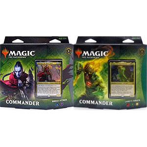 マジック:ザ・ギャザリング ゼンディカーの夜明け 統率者デッキ 英語版 2種セット