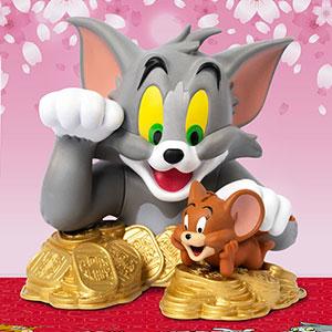 『トムとジェリー』ミニバスト・シリーズ シリーズ1 ミニ・招き猫