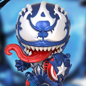 コスベイビー 『スパイダーマン:マキシマム・ヴェノム』[サイズS]キャプテン・アメリカ(ヴェノム版)