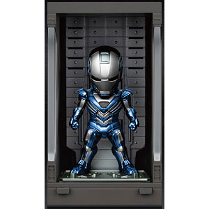 ミニ・エッグアタック 『アイアンマン3』シリーズ2 アイアンマン・マーク30(ブルー・スティール)