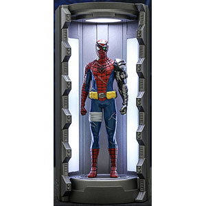 ビデオゲーム・マスターピース COMPACT スパイダーマン(サイボーグ・スパイダーマン・スーツ/スーツ格納庫付)