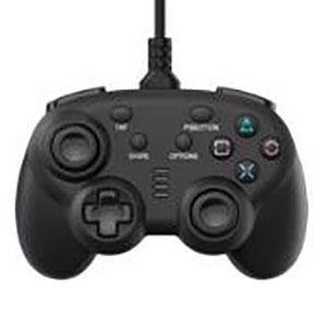 ワイヤード コントローラー ミニ ブラック (PS4/Switch用)
