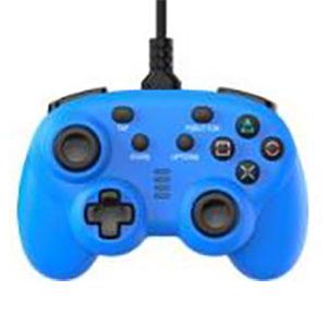 ワイヤード コントローラー ミニ ブルー (PS4/Switch用)