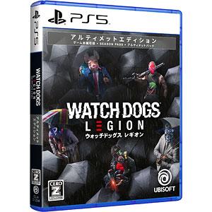 PS5 ウォッチドッグス レギオン アルティメットエディション