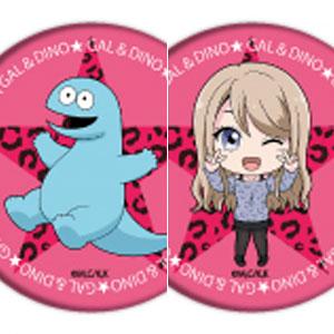 缶バッジ「ギャルと恐竜」02/ミニキャラ 5個入りBOX