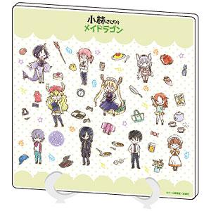 アクリルアートボード「小林さんちのメイドラゴン」01/散りばめデザイン(グラフアート)