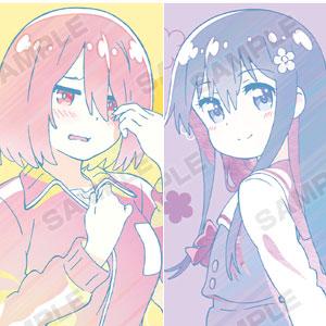 私に天使が舞い降りた! 星野みやこ&白咲花 Ani-Art クリアファイル