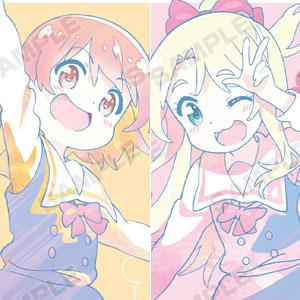 私に天使が舞い降りた! 星野ひなた&姫坂乃愛 Ani-Art クリアファイル