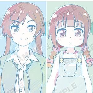 私に天使が舞い降りた! 松本香子&松本友奈 Ani-Art クリアファイル