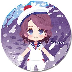 ヘタリア World★Stars レザーバッジ Ver.3 デザイン06(フランス)