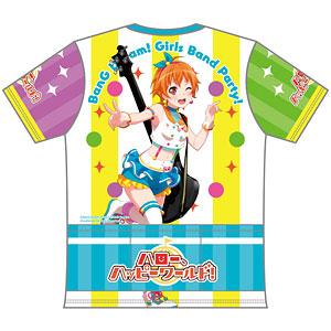 バンドリ! ガールズバンドパーティ! ツーリングTシャツ 北沢はぐみVer. (XL)