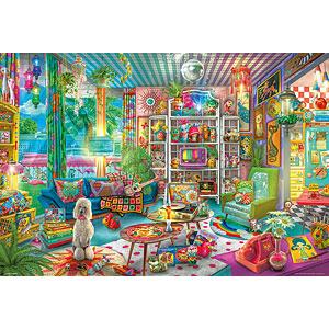 ジグソーパズル ガールズ キッチュルーム 1000ピース (31-511)