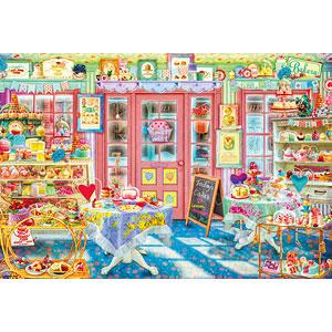 ジグソーパズル ラブリー ケーキショップ 1000ピース (31-512)