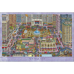 ジグソーパズル 迷路探偵ピエール ニュー・メイズ・シティ 1000ピース (10-1382)