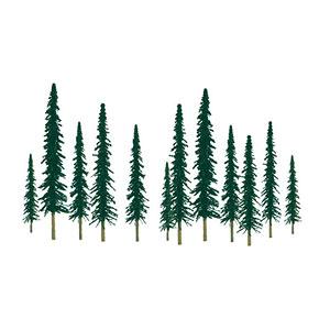 Nスケール 針葉樹(36本入り)