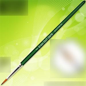 グリーンシリーズ 合成毛 丸筆 サイズ 2