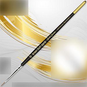 ゴールドシリーズ シベリアコリンスキー毛 丸筆 サイズ00