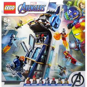レゴ スーパー・ヒーローズ アベンジャーズ・タワーの決戦 (76166)