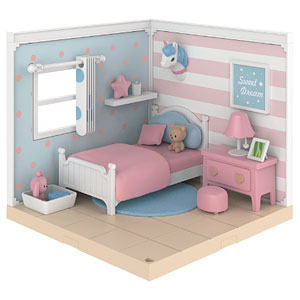 【特典】スイートハウスシリーズ 寝室セットA プラモデル