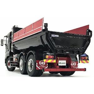 1/43 UD TRUCKS QUON ダンプトラック (ブラックメタリック)