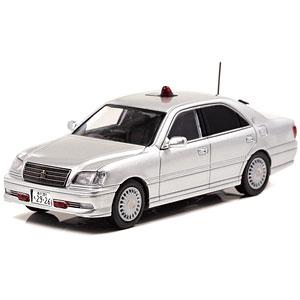 1/43 トヨタ クラウン (JZS175) 2004 警視庁交通部交通機動隊車両(覆面 銀)