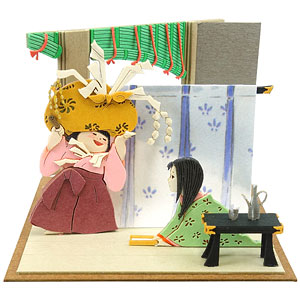 みにちゅあーとキット スタジオジブリmini かぐや姫の物語 女童とかぐや姫〔MP07-107〕