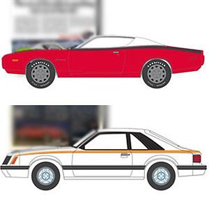 1/64 Vintage Ad Cars Series 4 6種セット