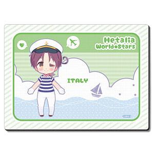 ヘタリア World★Stars ラバーマウスパッド Ver.3 デザイン01(イタリア)
