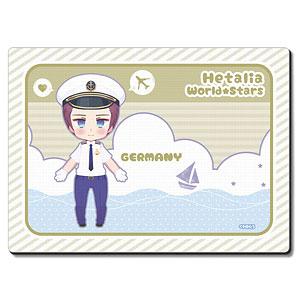 ヘタリア World★Stars ラバーマウスパッド Ver.3 デザイン02(ドイツ)