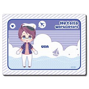 ヘタリア World★Stars ラバーマウスパッド Ver.3 デザイン04(アメリカ)