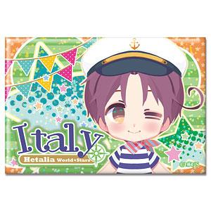 ヘタリア World★Stars ホログラム缶バッジ Ver.2 デザイン01(イタリア)