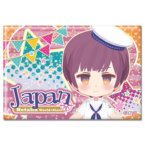 ヘタリア World★Stars ホログラム缶バッジ Ver.2 デザイン03(日本)