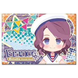 ヘタリア World★Stars ホログラム缶バッジ Ver.2 デザイン06(フランス)