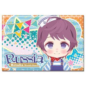 ヘタリア World★Stars ホログラム缶バッジ Ver.2 デザイン07(ロシア)