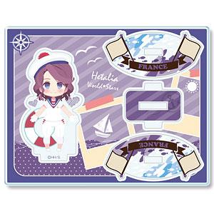 ヘタリア World★Stars ゆらっとアクリルフィギュア Ver.3 デザイン06(フランス)