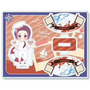 ヘタリア World★Stars ゆらっとアクリルフィギュア Ver.3 デザイン08(中国)