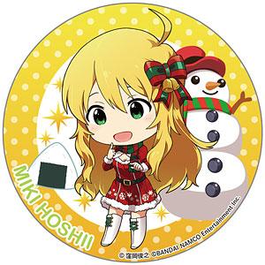 アイドルマスター ミリオンライブ! テーマ缶バッジ クリスマス 星井美希