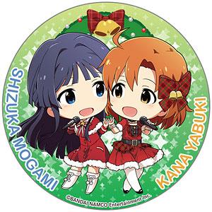 アイドルマスター ミリオンライブ! テーマ缶バッジ クリスマス 矢吹加奈&最上静香