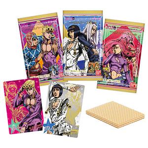 ジョジョの奇妙な冒険 黄金の風 ウエハース2 20個入りBOX (食玩)