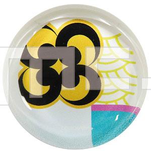 刀剣乱舞-ONLINE- ガラス箸置き 巴形薙刀