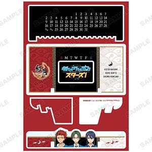 TVアニメ『あんさんぶるスターズ!』 紅月 卓上アクリル万年カレンダー