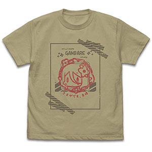 プリンセスコネクト!Re:Dive コッコロの「主さまがんばれスタンプ」 Tシャツ/SAND KHAKI-XL